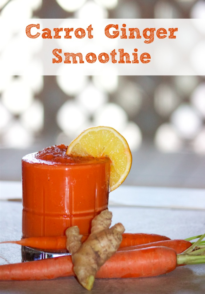 Carrot Ginger Smoothie - Everyday Southern Living