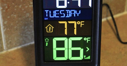 Wireless Indoor/ Outdoor Temperature Station