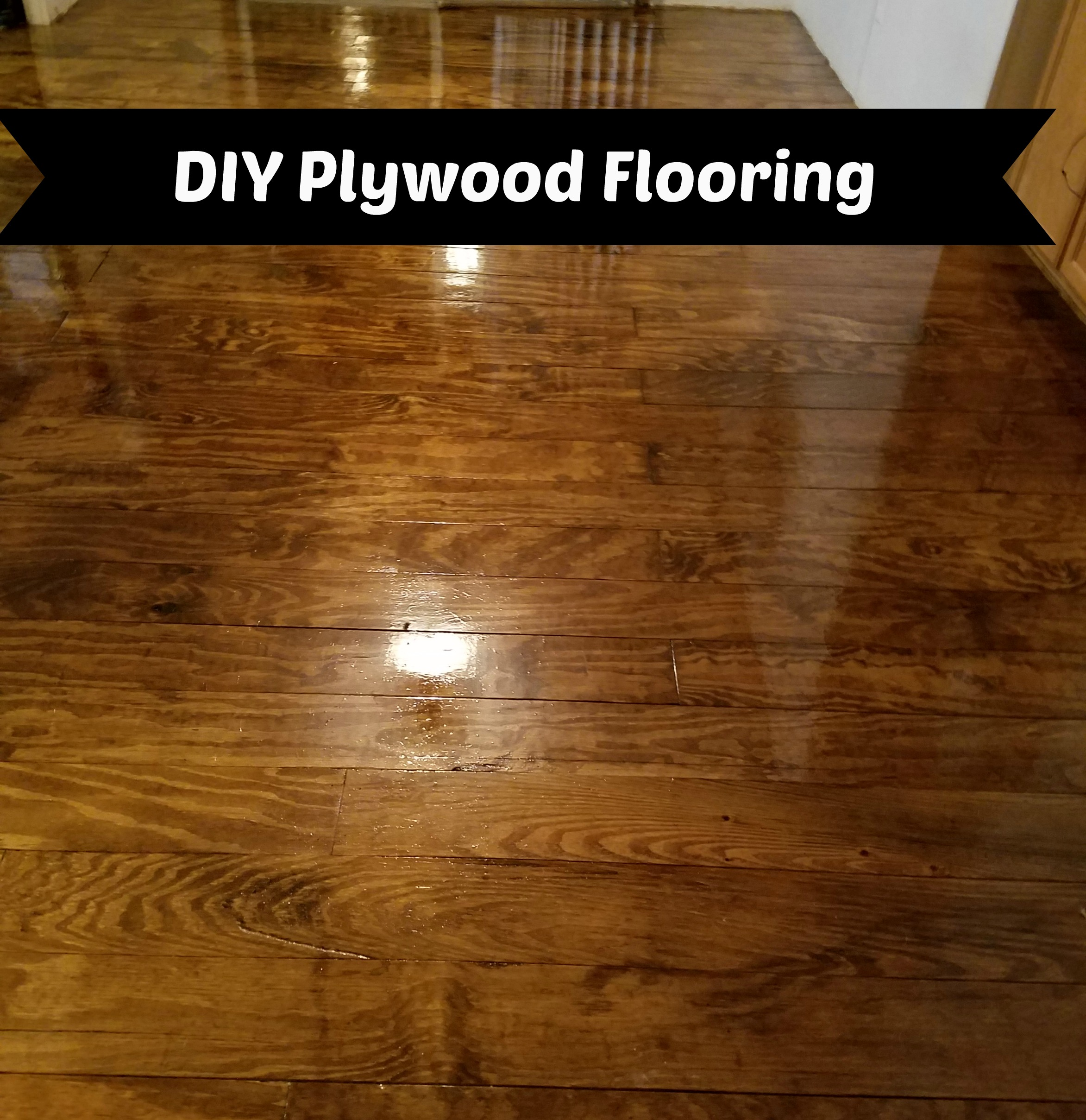 Diy Plywood Flooring Everyday Southern Living