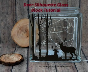 Deer Glass Block21